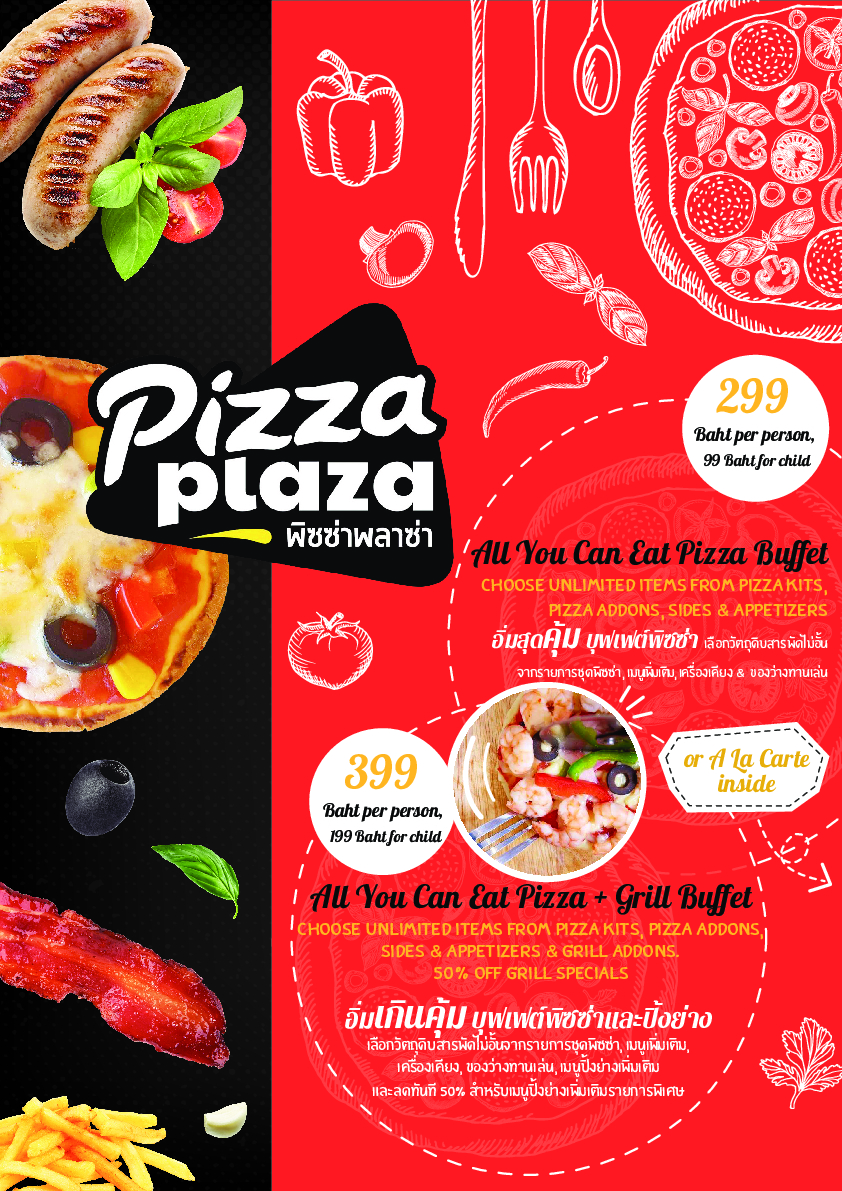 Pizza Plaza Menu